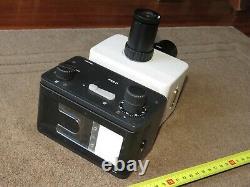 Wild MPS51 Heerbrugg Microscope Camera Adapter with Leitz Camera + Periplan Tube