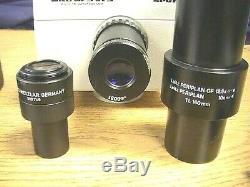 Wild MPS 51 S SPOT Microscope Camera Adapter & Leitz Trinocular Head 512 815/20