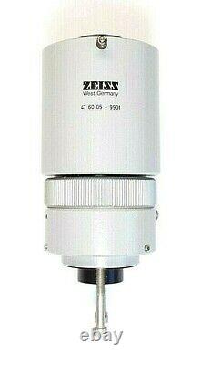 ZEISS MICROSCOPE ADAPTER, 47 60 05 9901, with 10X Eyepiece