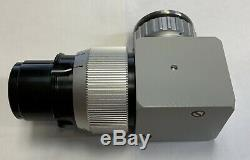 ZEISS f = 107 Coated T Surgical OPMI Microscope Video Camera Adapter Lens