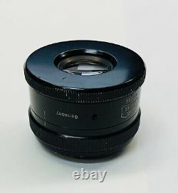 Zeiss 100mm Luminar 16.3 Microscope Objective/ Camera Lens & Adapter