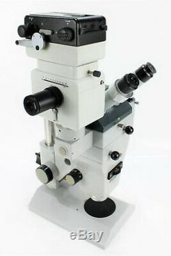 Zeiss 475057 Microscope + Adapter 435030+Film Camera Adapter Wild MPS11