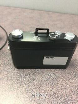 Zeiss 47 60 10 9901 0.5x Tessovar 1x Cine 0.4x Tube Adapter + C35 Camera