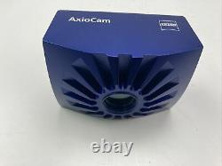 Zeiss AxioCam HRc 412-312 Color Microscope Camera with cables and power supply