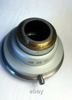 Zeiss Axio Microscope Video Camera Adapter C-Mount 45 29 95