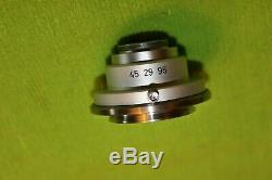 Zeiss Axio Microscope Video Camera Adapter C-Mount 45 29 95 C Mount