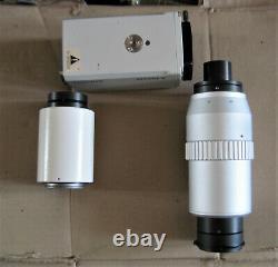 Zeiss Axioplan 2 Microscope adapter / Sony 0.5 2.0x Zoom camera Transfer Lens