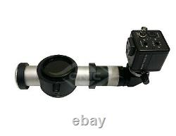 Zeiss Microscope Beam Splitter, C Mount & HD Digital Colour Camera With Wires