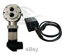 Zeiss Microscope Beam Splitter & C Mount & HD Hi Focus Camera