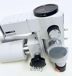 Zeiss OPMI 11 Surgical Microscope Head Assembly with Beam Splitter, Camera Adapter